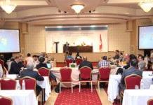 Participants à la conférence de clôture du CAREP-Tunis