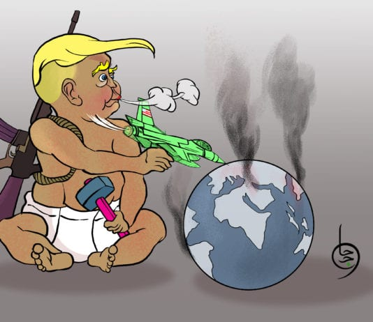 Trump by Hajo Saad
