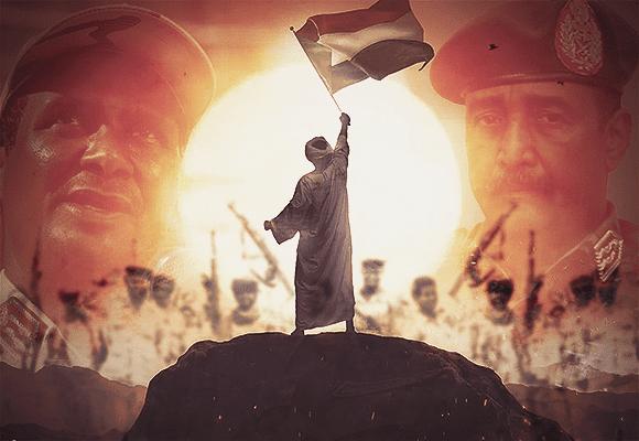 illustration crise Soudan