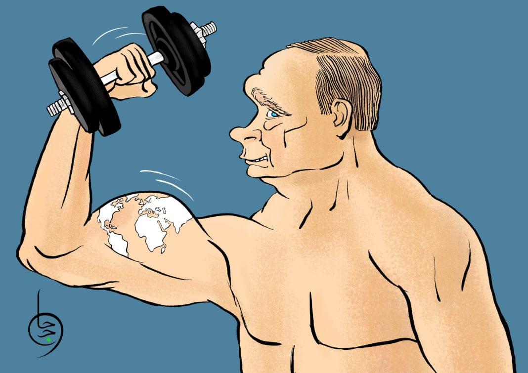 illustration Poutine Moyen Orient