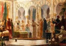 ill. Abd al-Rahman III reçoit des ambassadeurs